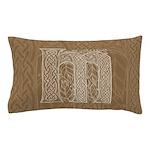 Celtic Letter M Pillow Case