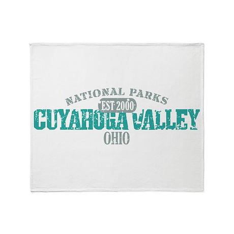 Cuyahoga Valley National Park Throw Blanket