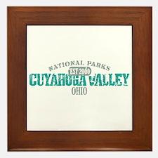 Cuyahoga Valley National Park Framed Tile