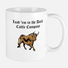 Load em in Dark Cattle Compan Mug