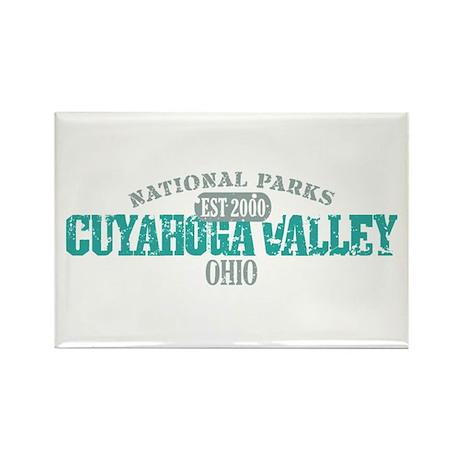 Cuyahoga Valley National Park Rectangle Magnet