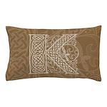 Celtic Letter K Pillow Case