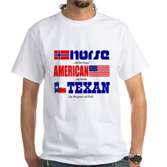 T-Shirt - Norse Heritage/Texan - White