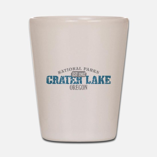 Crater Lake National Park OR Shot Glass
