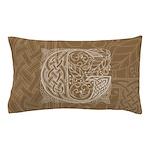 Celtic Letter G Pillow Case