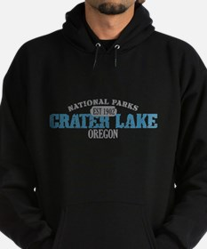 Crater Lake National Park OR Hoodie (dark)