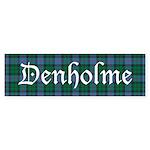 Tartan - Denholme Sticker (Bumper 10 pk)