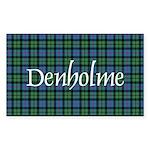 Tartan - Denholme Sticker (Rectangle 50 pk)