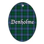 Tartan - Denholme Ornament (Oval)