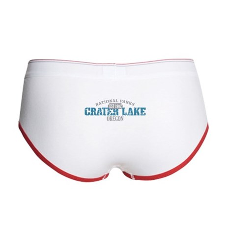 Crater Lake National Park OR Women's Boy Brief