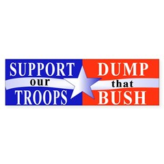 Support our Troops ... Bumper Bumper Sticker