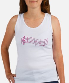 "Pink ""Rue's Whistle"" Women's Tank Top"