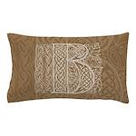 Celtic Letter B Pillow Case