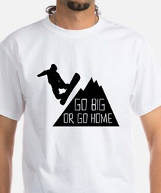 Snowboarder Go Big T-Shirt