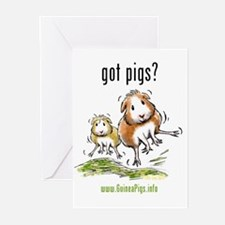 Got Pigs? Greeting Cards