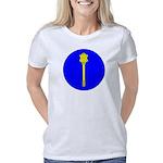 Bullmastiff v Wife Organic Men's Fitted T-Shirt (d