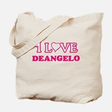 I Love Deangelo Tote Bag