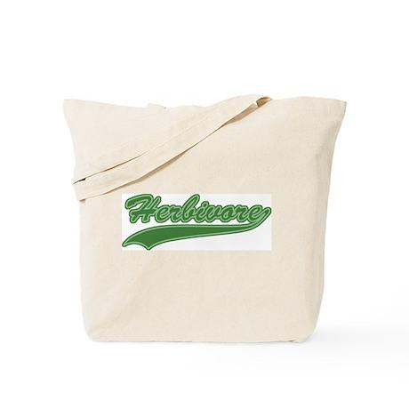 Retro Herbivore Tote Bag
