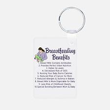 Breastfeeding Benefits Keychains