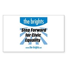 Step Forward Sticker (Rectangle)