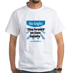 Step Forward White T-Shirt