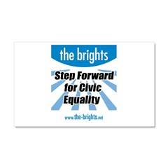 Step Forward Car Magnet 20 x 12
