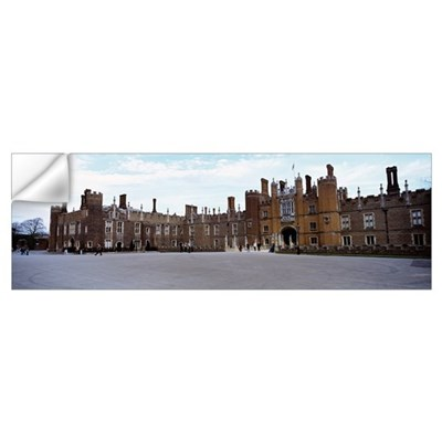 Facade of a building, Hampton Court Palace, London Wall Decal
