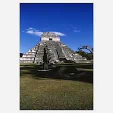 Ruins of a temple, Temple of The Grand Jaguar, Tik