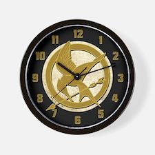 Hunger Games Logo Wall Clock