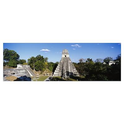 Tikal, Guatemala, Central America Poster