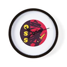 O.S.S. Wall Clock