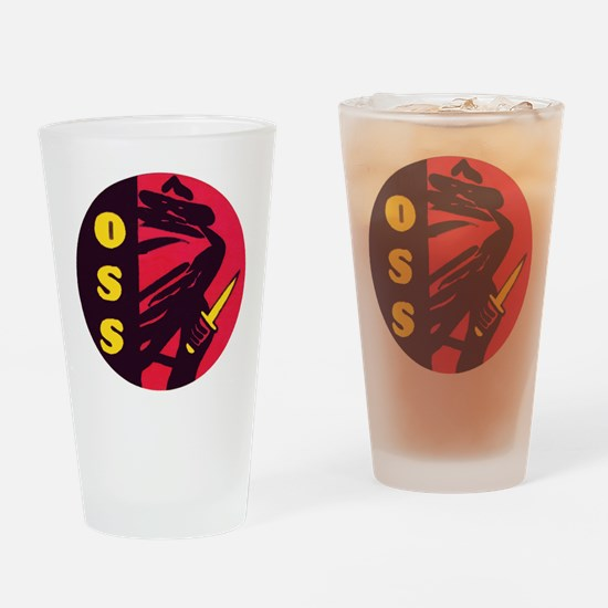 O.S.S. Drinking Glass