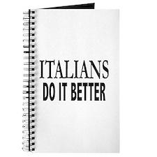 Italians Do It Better Journal