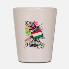 Flower Hungary Shot Glass