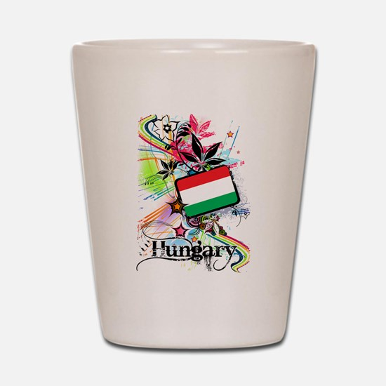 Flower Hungary Shot Glass