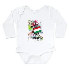 Flower Hungary Long Sleeve Infant Bodysuit