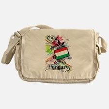 Flower Hungary Messenger Bag