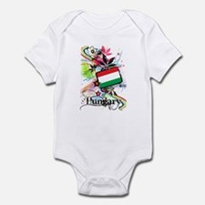 Flower Hungary Infant Bodysuit