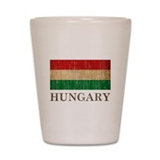 Vintage Hungary Shot Glass