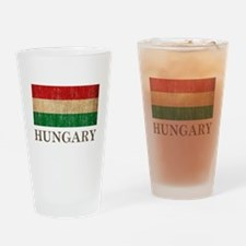 Vintage Hungary Drinking Glass