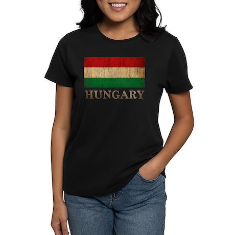 Vintage Hungary Women's Dark T-Shirt