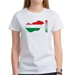 Map Of Hungary Women's T-Shirt