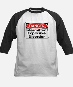 Danger IED Kids Baseball Jersey
