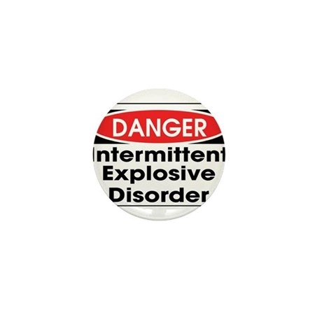 Danger IED Mini Button (10 pack)