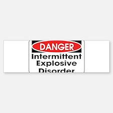 Danger IED Bumper Bumper Bumper Sticker