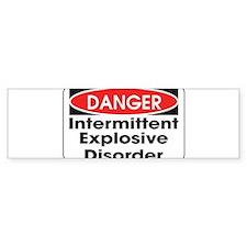 Danger IED Bumper Bumper Sticker