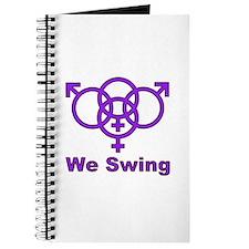 """Swinger Symbol-""""We Swing"""" Journal"""