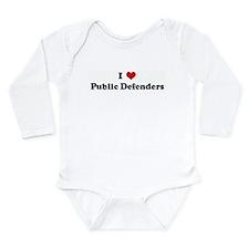 Cute Loving designs Long Sleeve Infant Bodysuit