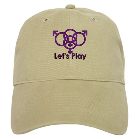 "Swinger Symbol ""Let's Play"" Cap"