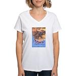 Airborne Women's V-Neck T-Shirt